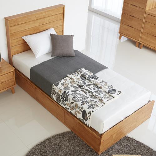 DW-밀레 SS 침대 기본 1단형 (1단형, 2단형) (매트리스 별도)