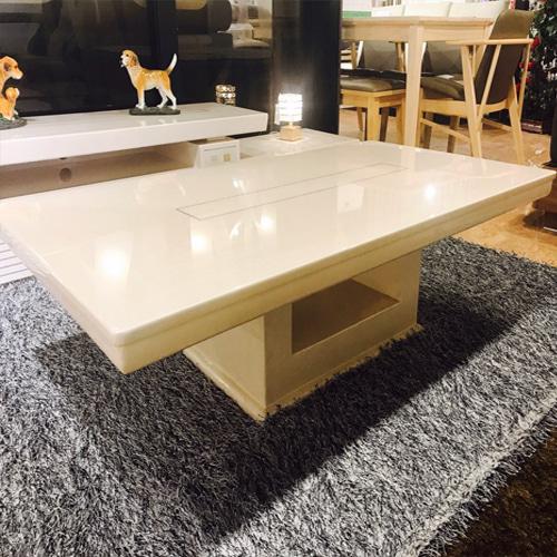 천연 산호석 소파 테이블